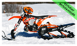 KTM 500XCW Snowcross Timber