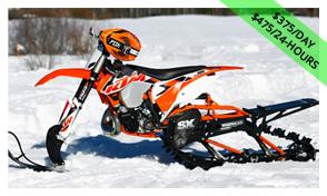 KTM 500XCW Snowcross Timber
