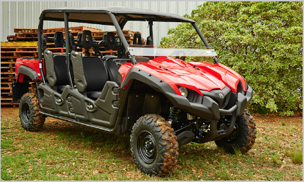 Rzr side by sides for rent in denver vail co vail for Yamaha viking 6 seater top speed